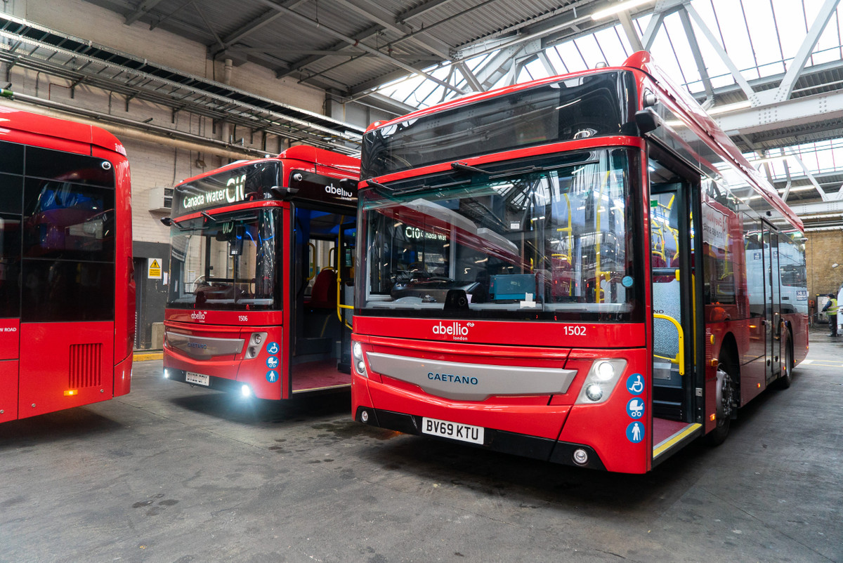 Abellio London Bus Depot