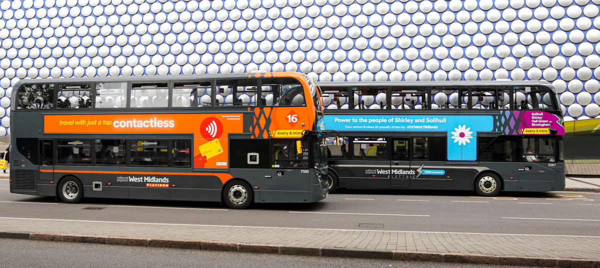 First double decker electric bus fleet launched by National Express and Zenobe Energy in Birmingham